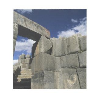 Perú, Cuzco, fortaleza de Sacsayhuaman, buen ejemp Blocs