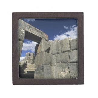 Perú, Cuzco, fortaleza de Sacsayhuaman, buen ejemp Caja De Joyas De Calidad