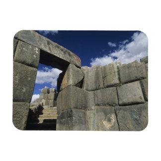 Perú, Cuzco, fortaleza de Sacsayhuaman, buen ejemp Imán Flexible