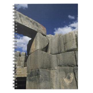 Perú, Cuzco, fortaleza de Sacsayhuaman, buen ejemp Libro De Apuntes