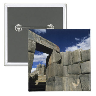 Perú, Cuzco, fortaleza de Sacsayhuaman, buen ejemp Pin Cuadrado