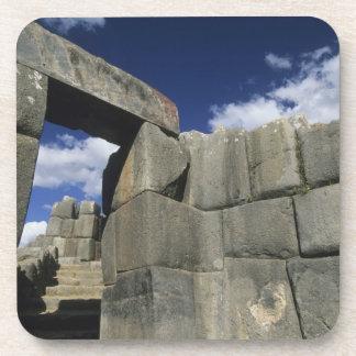 Perú, Cuzco, fortaleza de Sacsayhuaman, buen ejemp Posavasos De Bebida