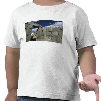 Perú, Cuzco, fortaleza de Sacsayhuaman, buen Camisetas