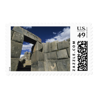 Peru Cuzco Sacsayhuaman fortress good example Postage Stamps