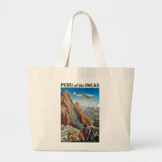 Perú de los incas bolsa tela grande
