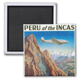 Perú de los incas iman de frigorífico