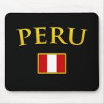 Perú de oro alfombrilla de raton