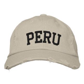 Peru Embroidered Hat