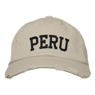 Peru Embroidered Hat Embroidered Hat