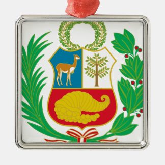Peru - Escudo Nacional (National Emblem) Metal Ornament