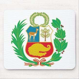 Peru - Escudo Nacional (National Emblem) Mouse Pad