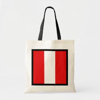 Peru Flag Bag