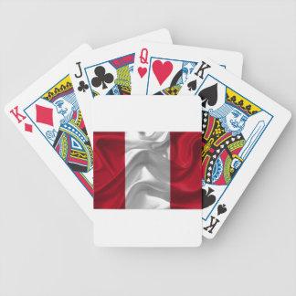 peru-Flag Bicycle Playing Cards