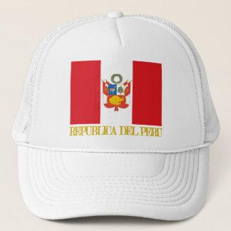 Peru Flag & COA Trucker Hat