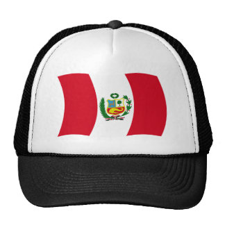 Peru Flag Hat