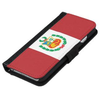 Peru Flag iPhone 6/6s Wallet Case