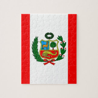 Peru Flag Jigsaw Puzzle