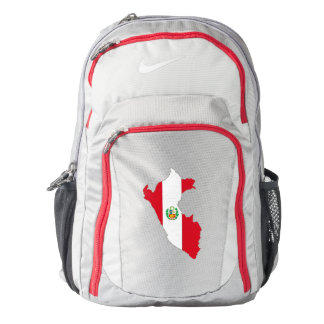 Peru Flag/Map Nike Backpack