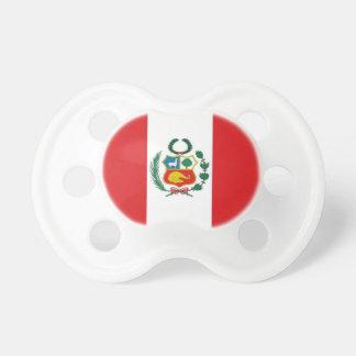 Peru Flag Pacifier