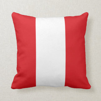 Peru Flag pillow