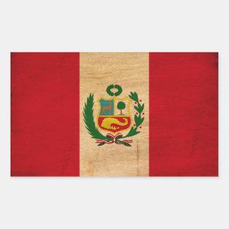 Peru Flag Stickers