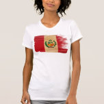 Peru Flag Tee Shirt