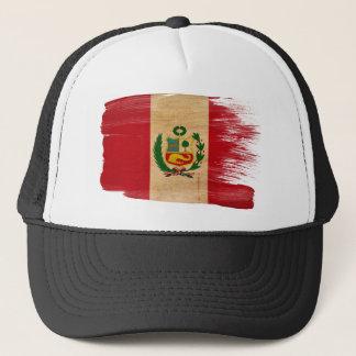 Peru Flag Trucker Hat