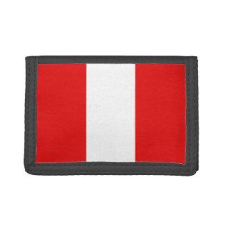 Peru Flag Wallet