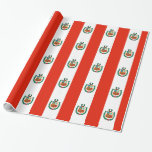Peru Flag Wrapping Paper