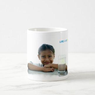 peru girl, lifesaverrelief.ai coffee mug