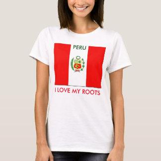 Peru-I LOVE MY ROOTS T-Shirt