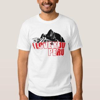 Peru I Love You - InKa1821 Label T-Shirt