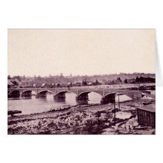 Peru Indiana Wabash River Bridge Card