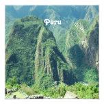 Peru Invitation