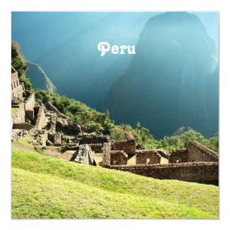 Peru Landscape Invites