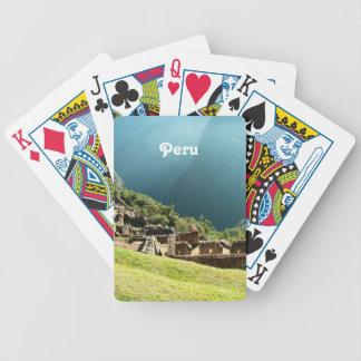 Peru Landscape Bicycle Poker Cards