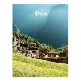 Peru Landscape Postcard