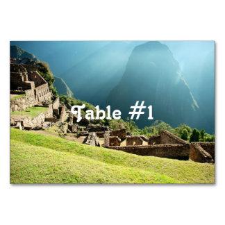 Peru Landscape Table Cards