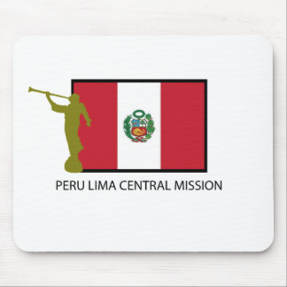 PERU LIMA CENTRA MISSION LDS CTR MOUSE PAD