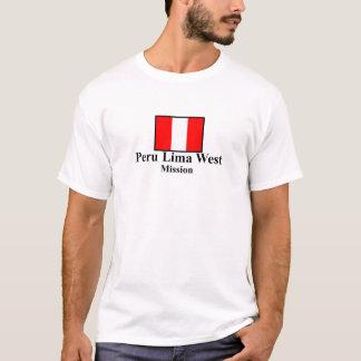 Peru Lima West LDS Mission T-Shirt