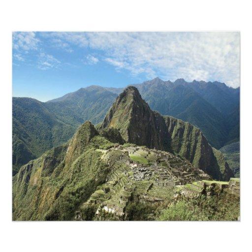 Perú, Machu Picchu, la ciudad perdida antigua de 2 Cojinete