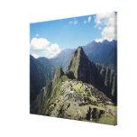 Perú, Machu Picchu, la ciudad perdida antigua de 2 Impresion De Lienzo