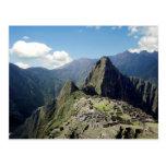 Perú, Machu Picchu, la ciudad perdida antigua de 2 Tarjetas Postales