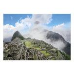 Perú, Machu Picchu, la ciudad perdida antigua de 3 Fotografias