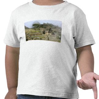 Perú, Machu Picchu. La ciudadela antigua de Camiseta