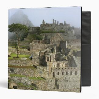 Peru, Machu Picchu. The ancient citadel of Binder