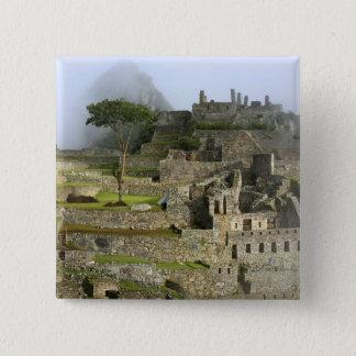 Peru, Machu Picchu. The ancient citadel of Button