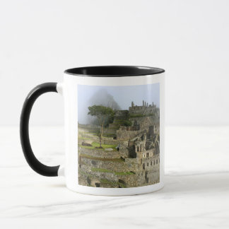Peru, Machu Picchu. The ancient citadel of Mug