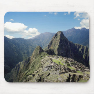 Peru, Machu Picchu, the ancient lost city of 2 Mouse Pad