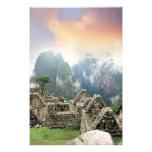 Peru, Machu Picchu, the ancient lost city of 3 Photo Art